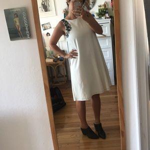 Tahari beaded swing dress